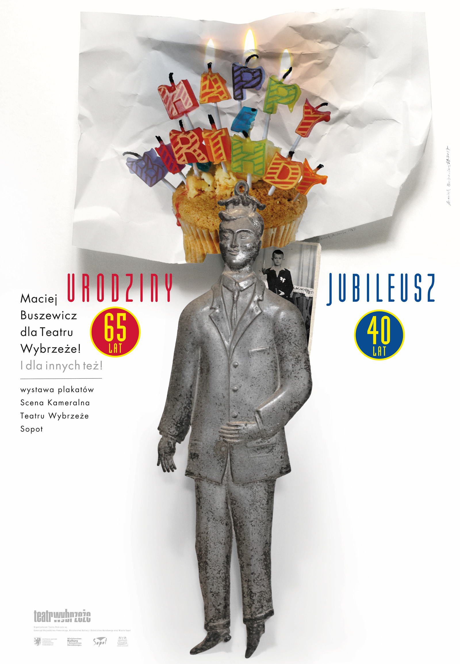 Plakat jubileuszowej wystawy (źródło: materiały prasowe organizatora)