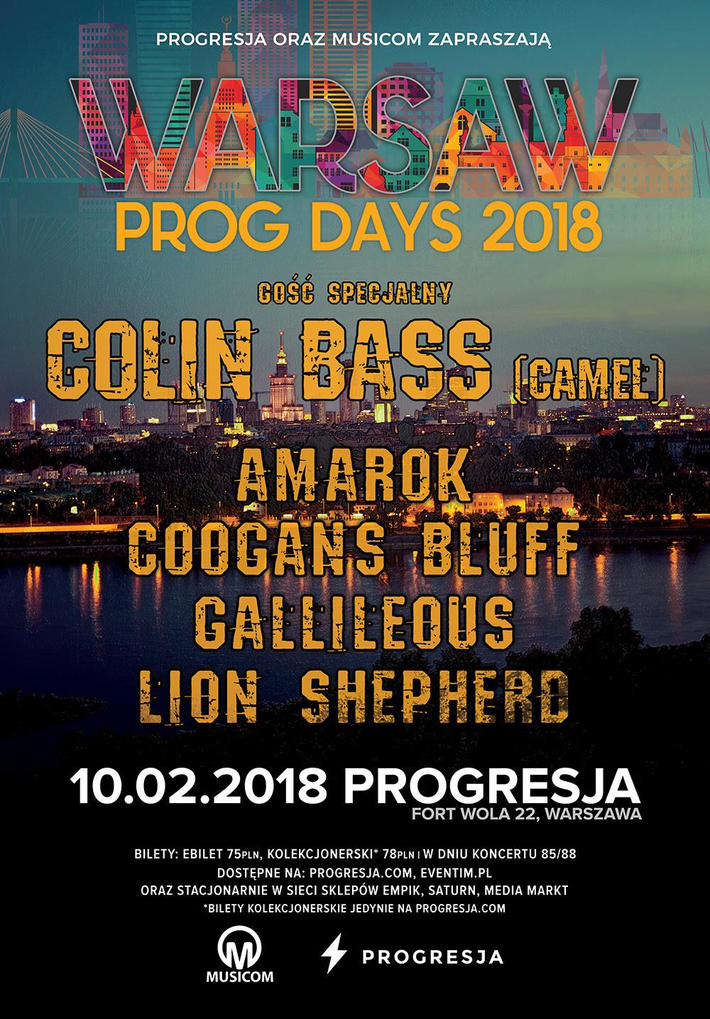 Warsaw Prog Days 2018 (źródło: materiały prasowe organizatora)