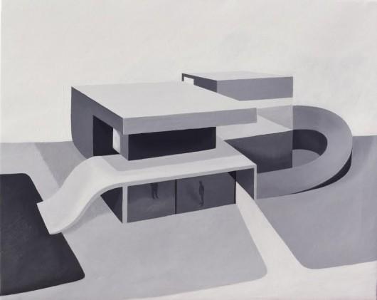 """""""Architektura malowana. Architektura w hiszpańskim malarstwie XXI wieku"""" (źródło: materiały prasowe organizatora)"""