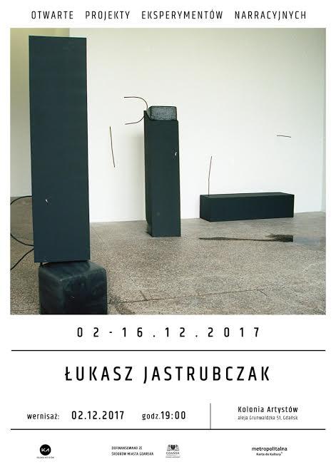 """Łukasz Jasturbczak """"Rekonstrukcja zdarzenia"""" (źródło: materiały prasowe organizatora)"""