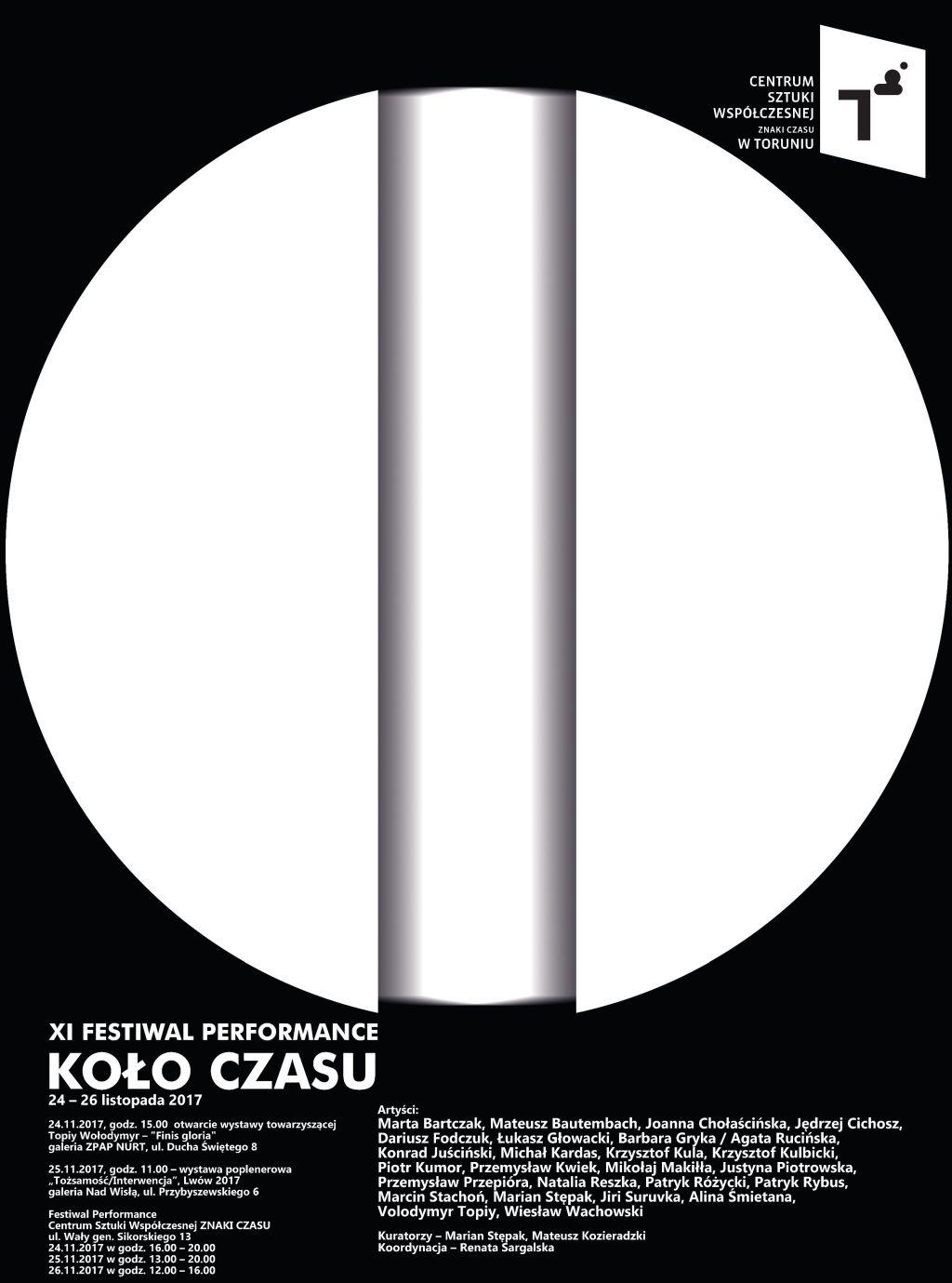 XI Festiwal Performance Koło Czasu (źródło: materiały prasowe organizatora)