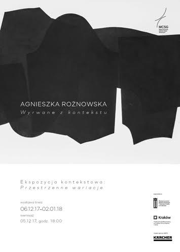 """Agnieszka Rożnowska """"Wyrwane z kontekstu"""" (źródło: materiały prasowe organizatora)"""
