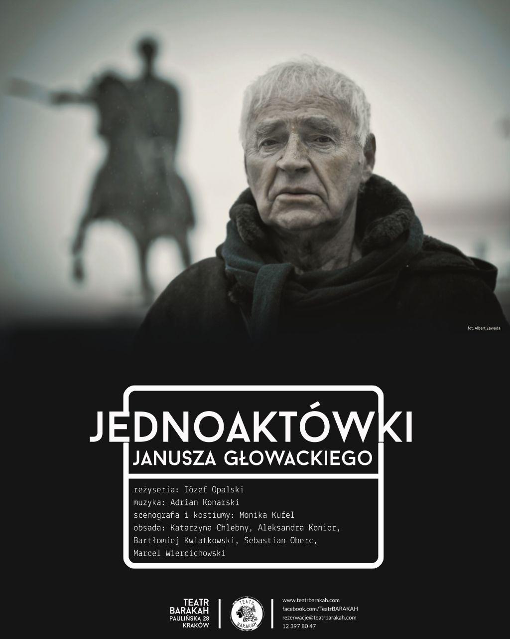 """Janusz Głowacki, """"Jednoaktówki"""" (źródło: materiały prasowe teatru)"""
