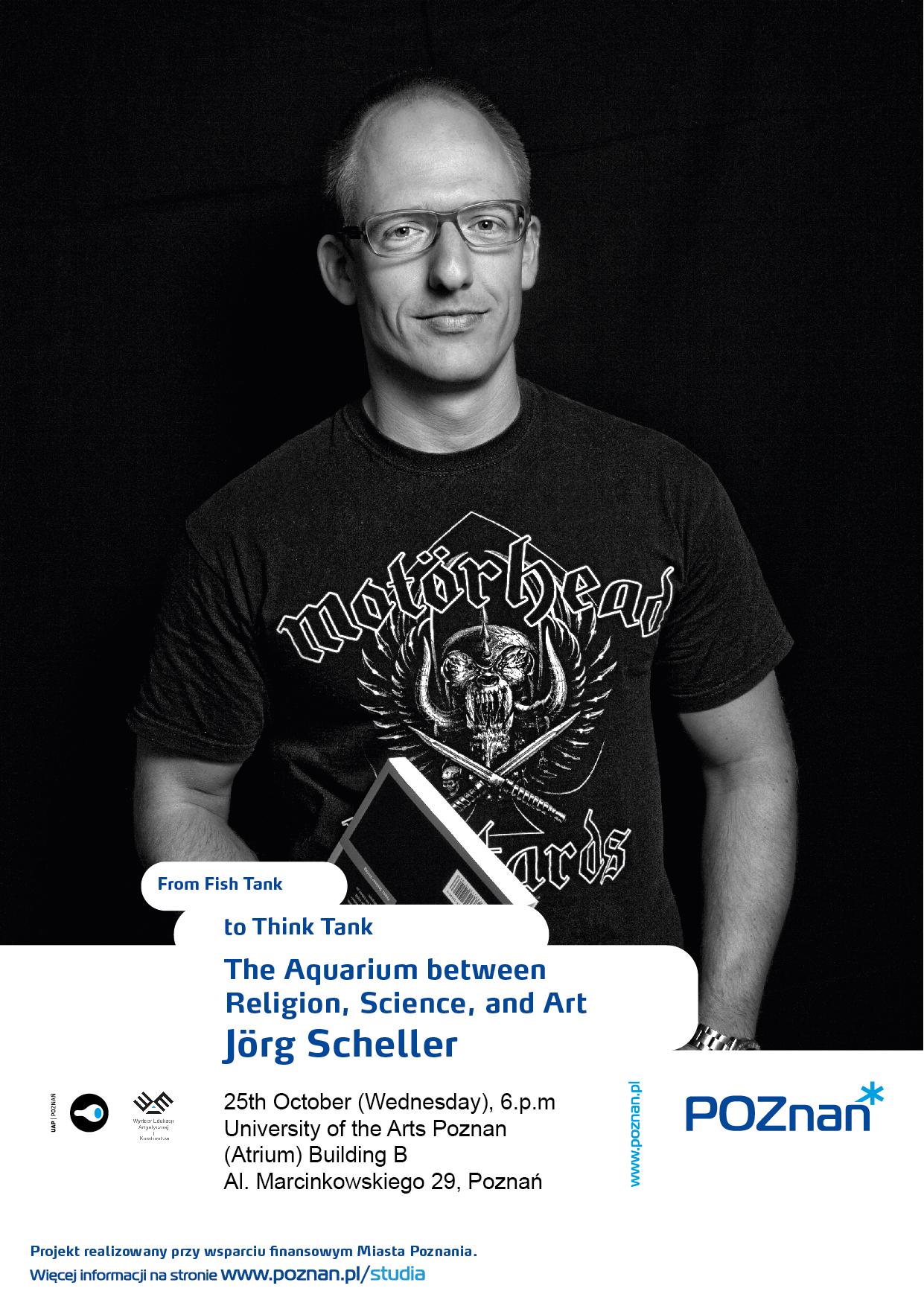 Jörg Scheller (źródło: materiały prasowe organizatora)