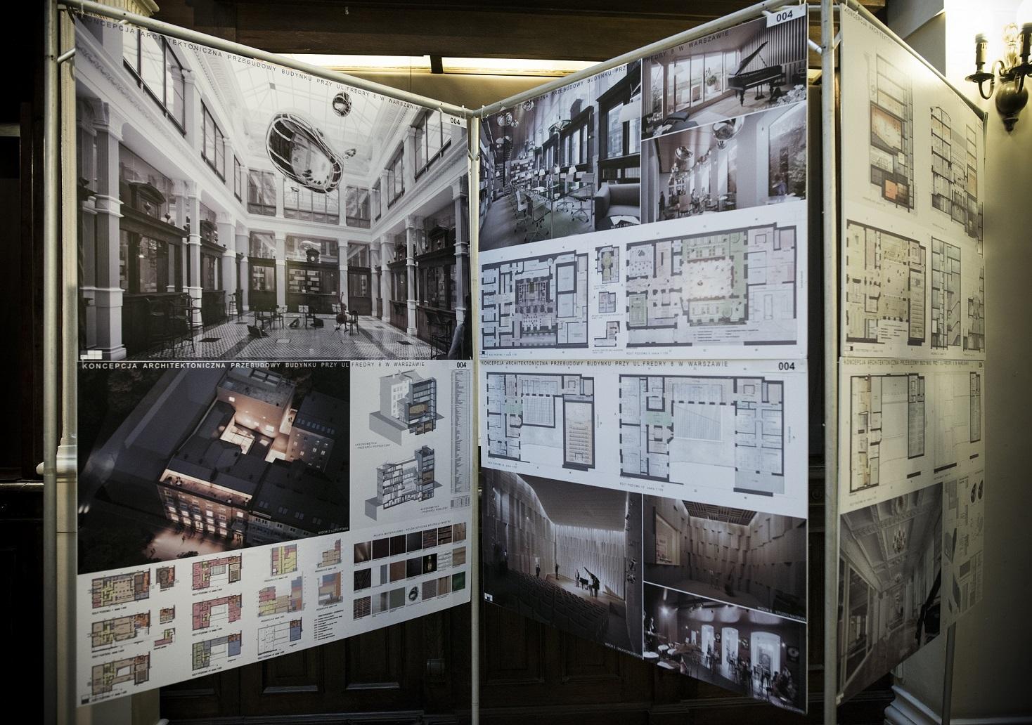 Konkurs Architektoniczny #Fredry8 (źródło: materiały prasowe organizatora)
