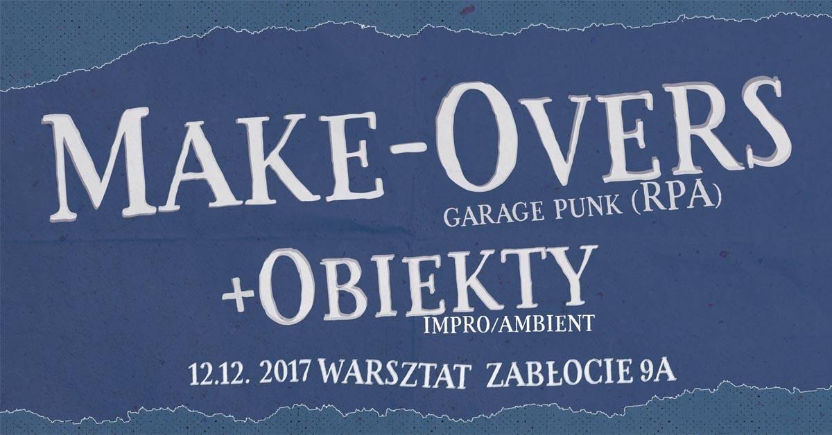 Make-Overs, Obiekty – plakat (źródło: materiały prasowe)