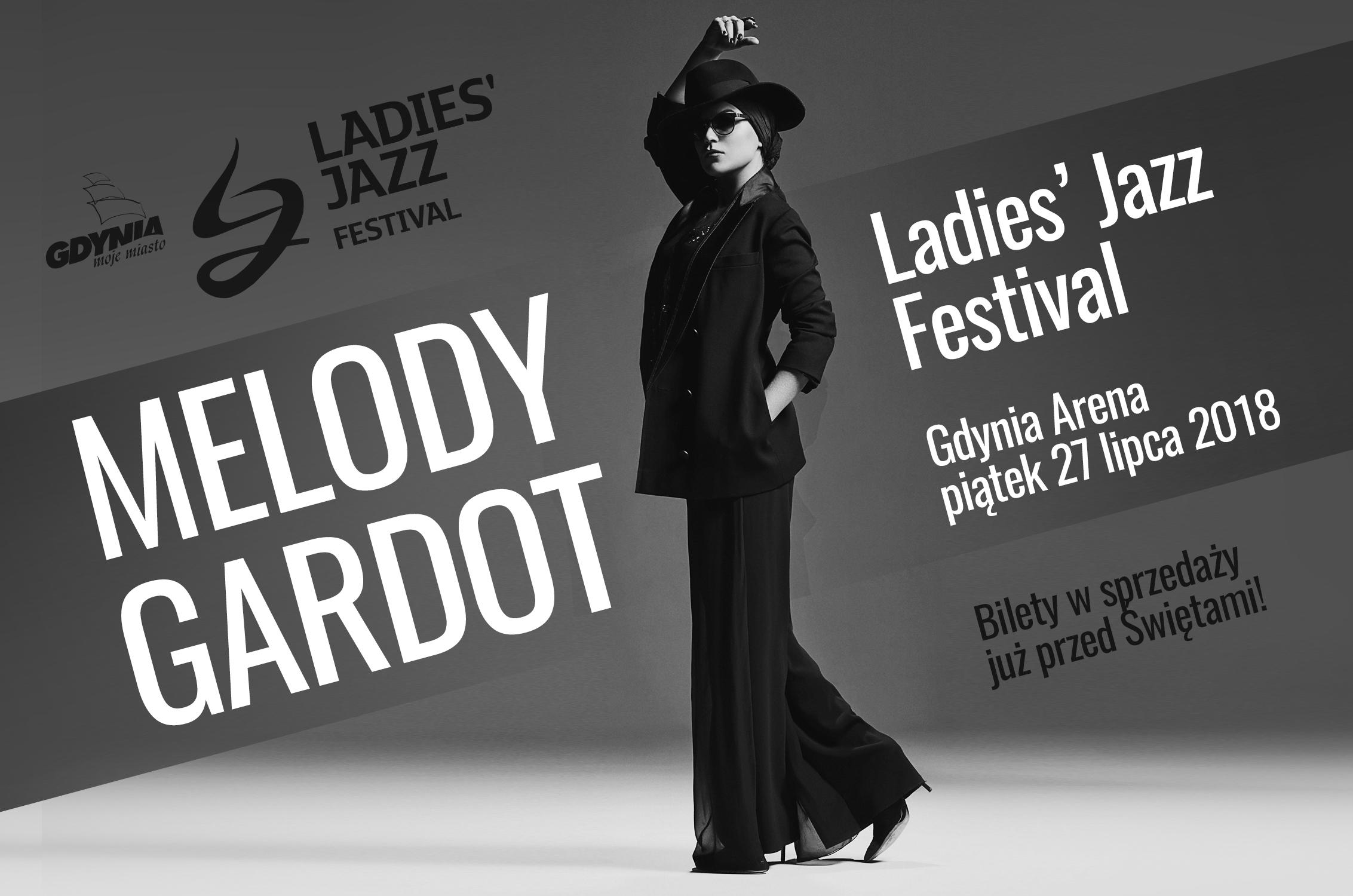 Melody Gardot na Ladies' Jazz Festival w Gdyni (źródło: materiały prasowe organizatora)