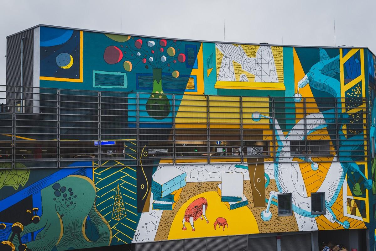 Lemowski mural, proj. Marcin Czaja (źródło: materiały prasowe)