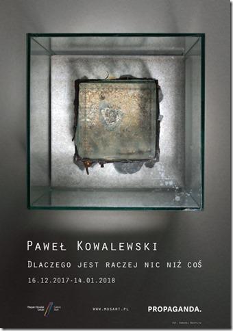 """Paweł Kowalewski, """"Dlaczego jest raczej nic niż coś"""" (źródło: materiały prasowe organizatora)"""