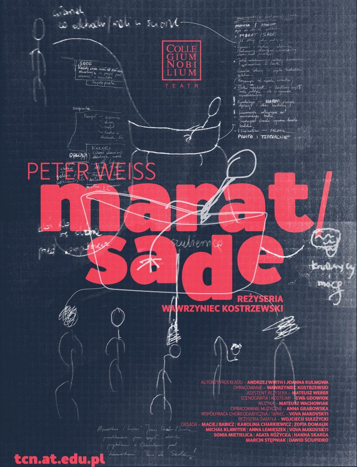 """Peter Weiss, """"Marat/Sade"""", reż. Wawrzyniec Kostrzewski (źródło: materiały prasowe)"""