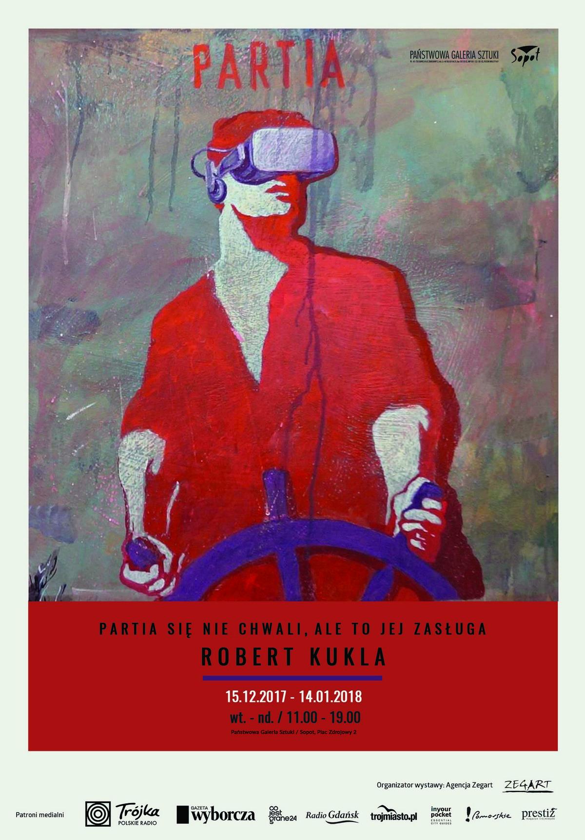 Plakat, Robert Kukla (źródło: materiały prasowe organizatora)