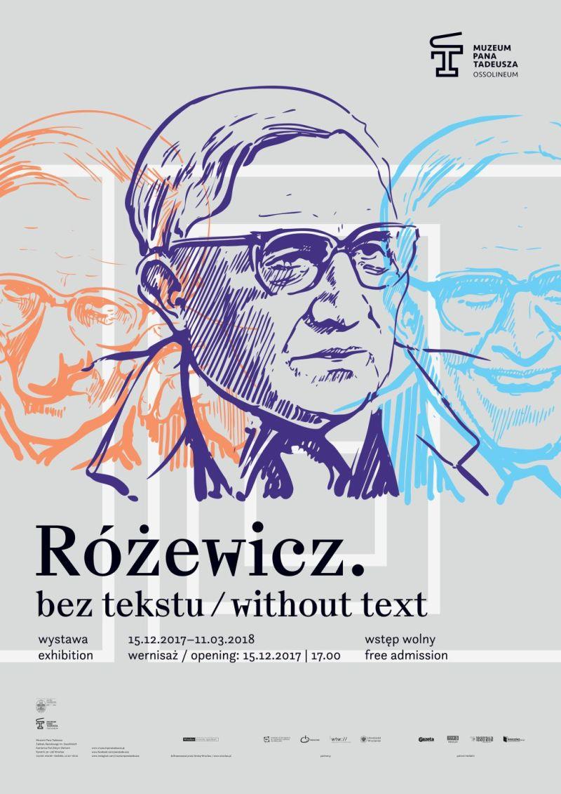 """""""Różewicz. Bez tekstu"""" (źródło: materiały prasowe organizatora)"""
