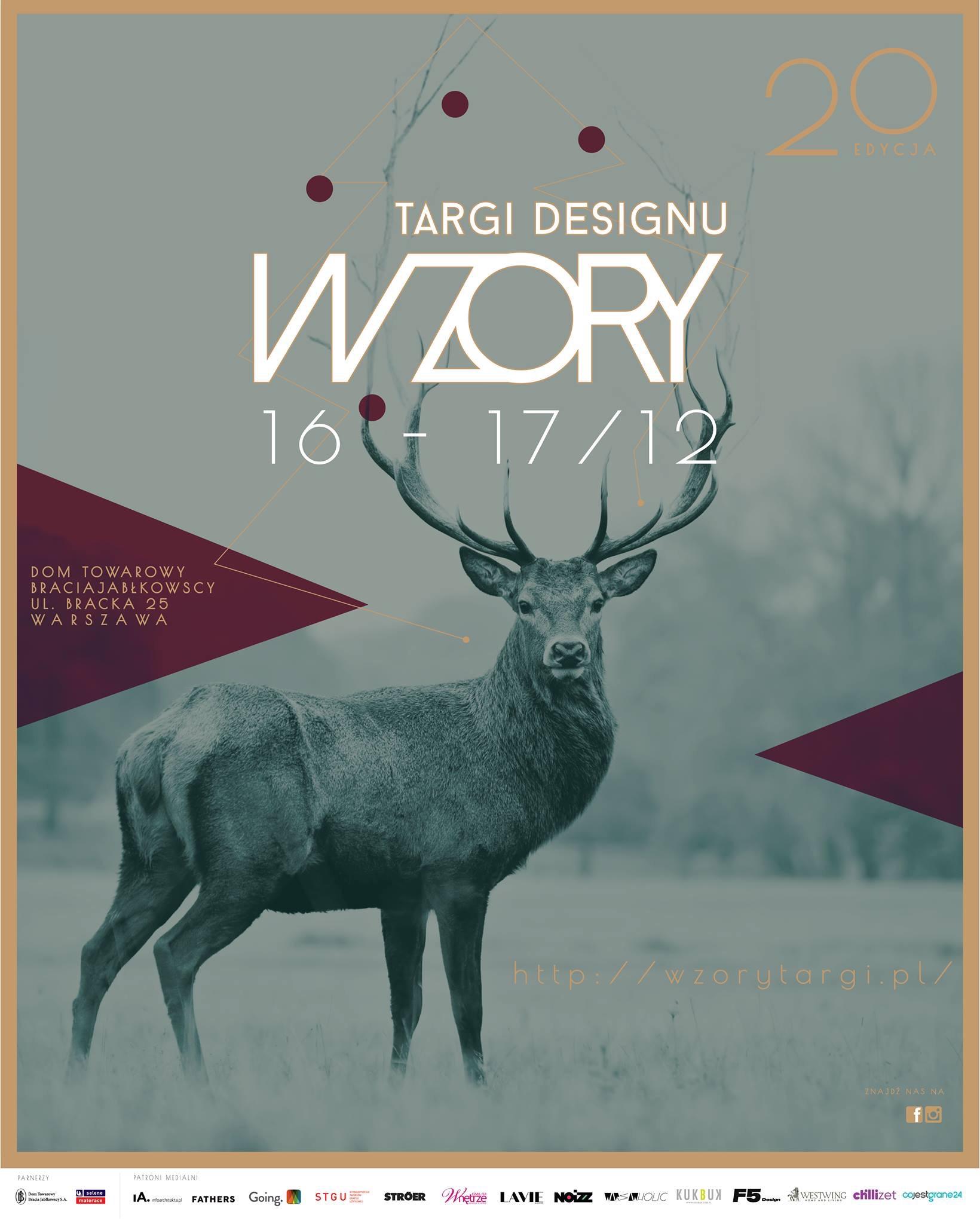 Targi Designu Wzory – plakat (źródło: materiały prasowe organizatora)