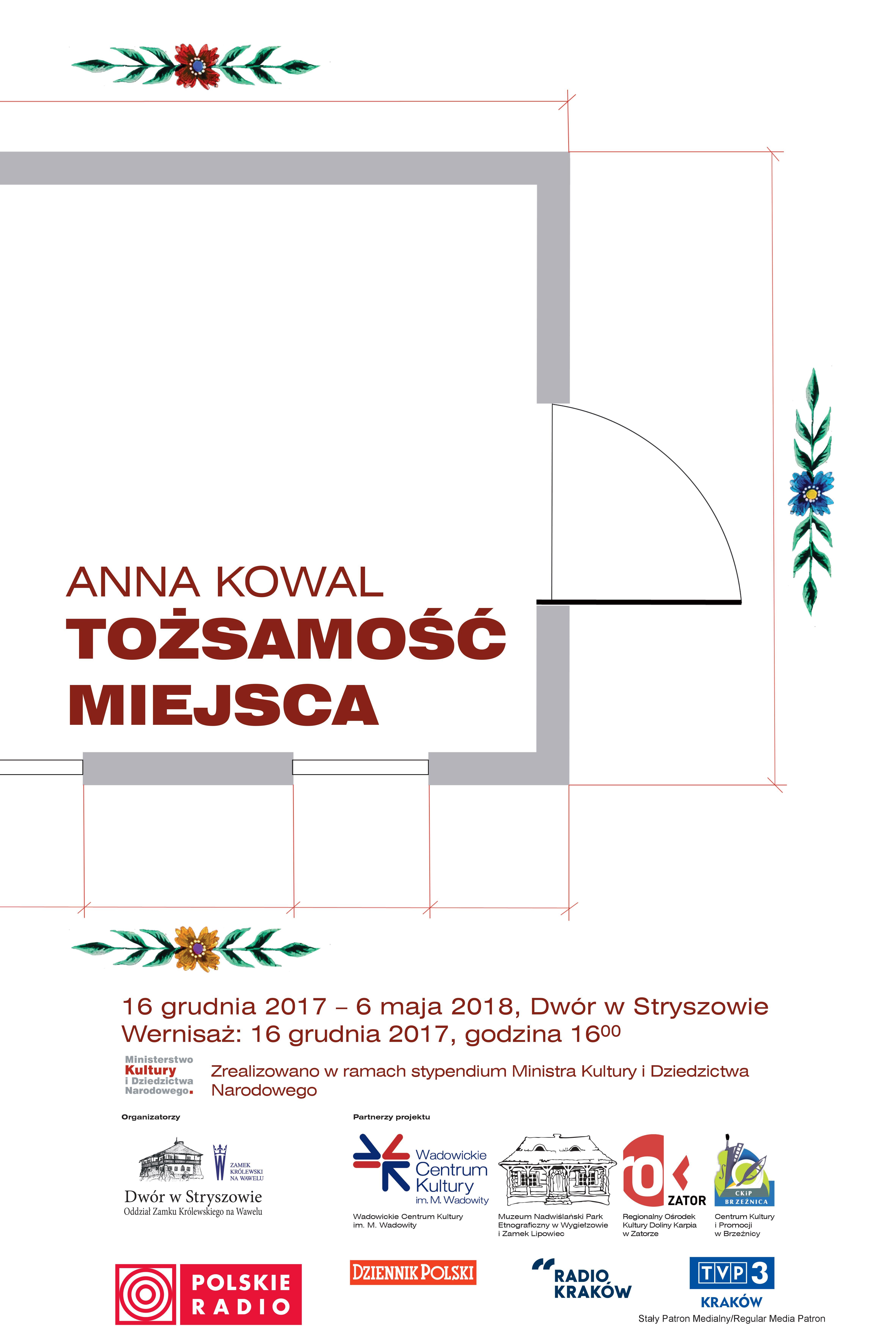 """Anna Kowal """"Tożsamość miejsca"""" (źródło: materiały prasowe organizatora)"""