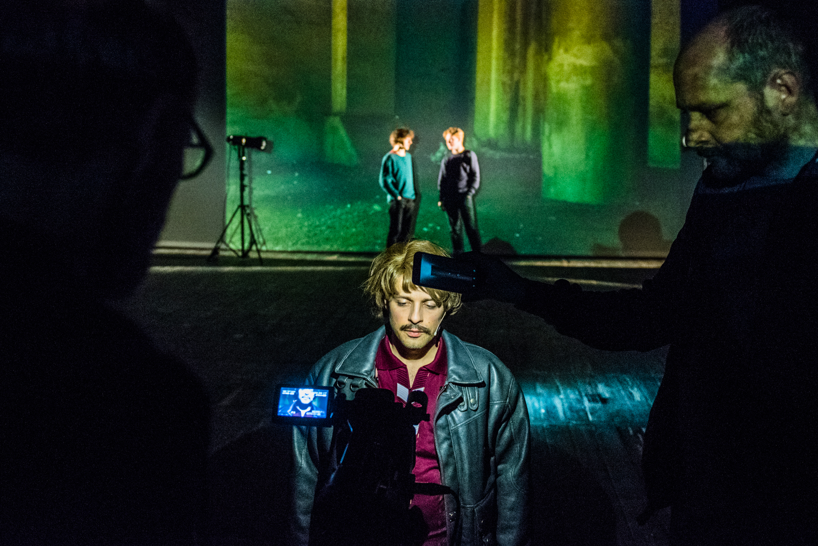"Virginie Despentes, ""Vernon Subutex"", reż. Wiktor Rubin, fot. Monika Stolarska (źródło: materiały prasowe teatru)"