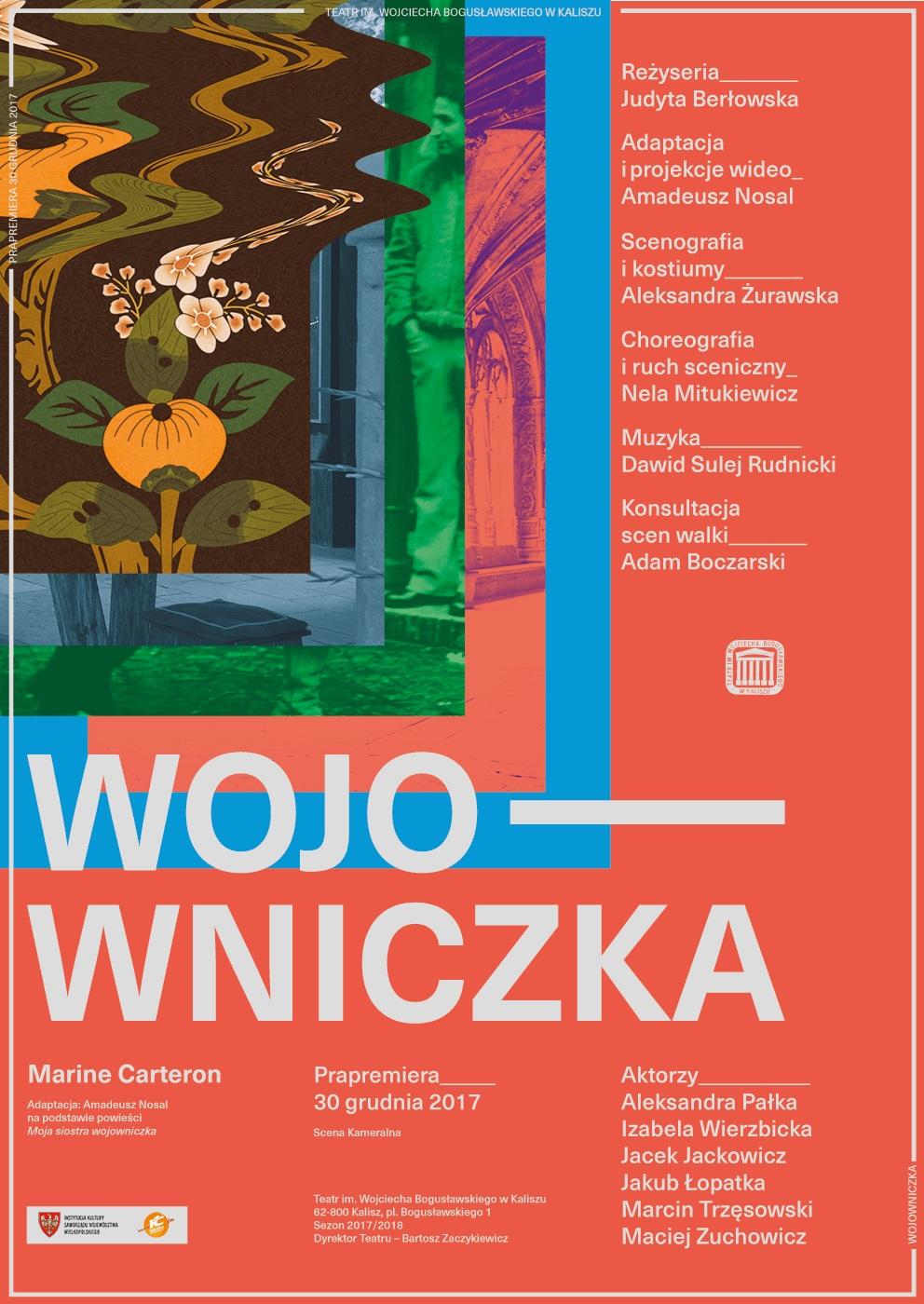 """""""Wojowniczka"""" wg Marine Carteron, reż. Judyta Berłowska (źródło: materiały prasowe teatru)"""