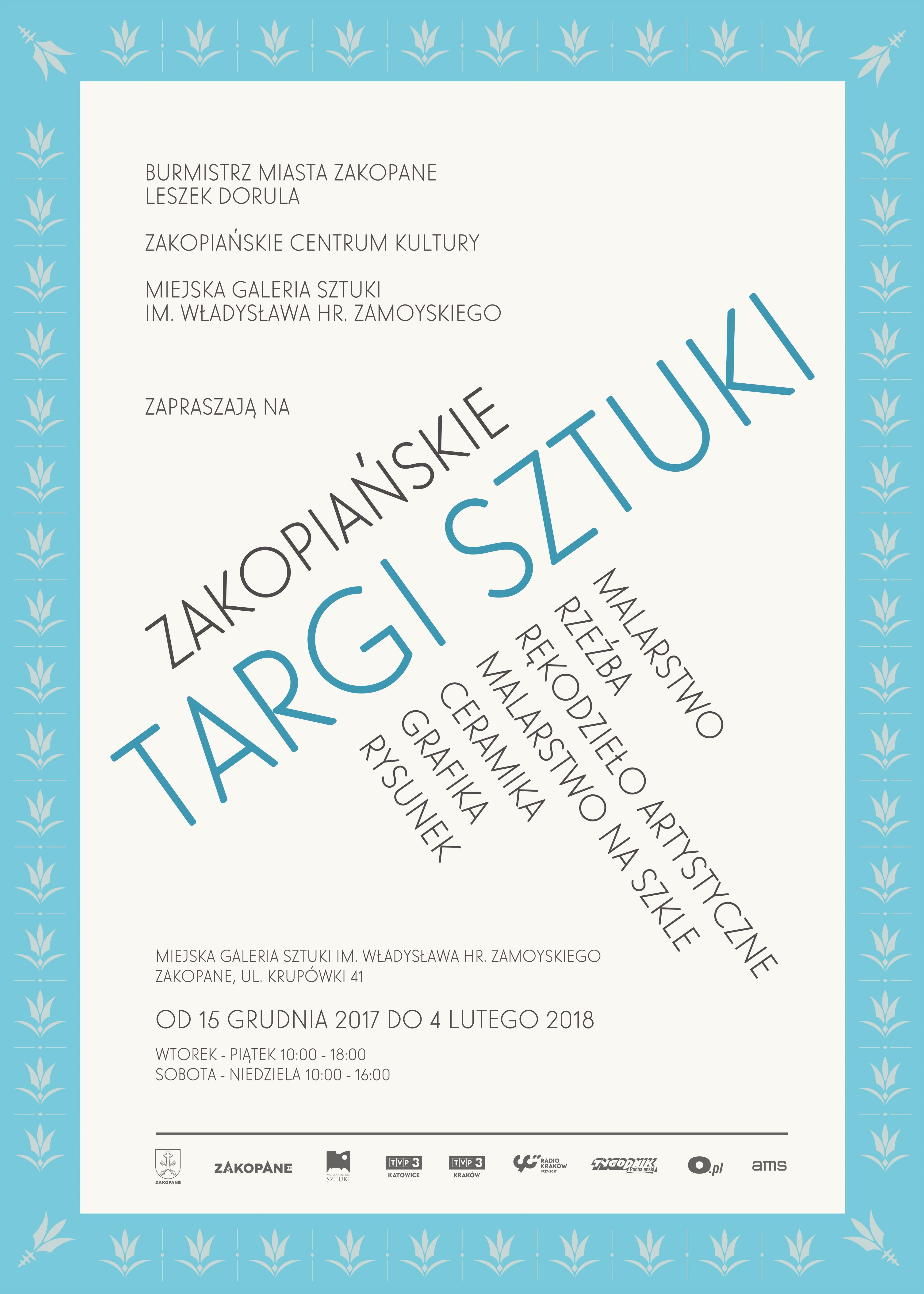 Zakopiańskie Targi Sztuki (źródło: materiały prasowe organizatora)
