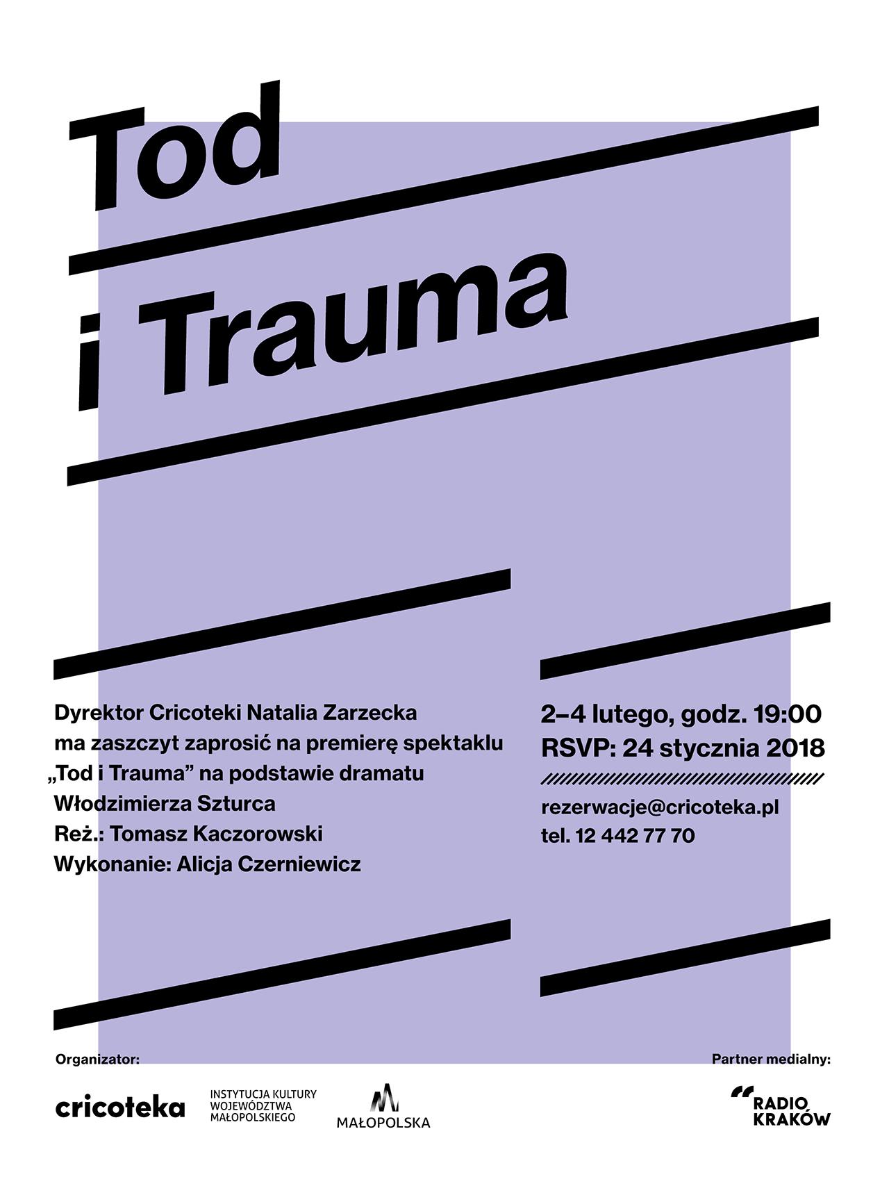 """""""Tod i Trauma"""", reż. Tomasz Kaczorowski( źródło: materiały prasowe)"""