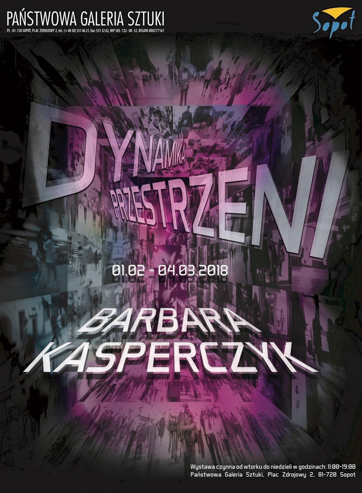 """Barbara Kasperczyk, """"Dynamika przestrzeni"""" (źródło: materiały prasowe organizatora)"""