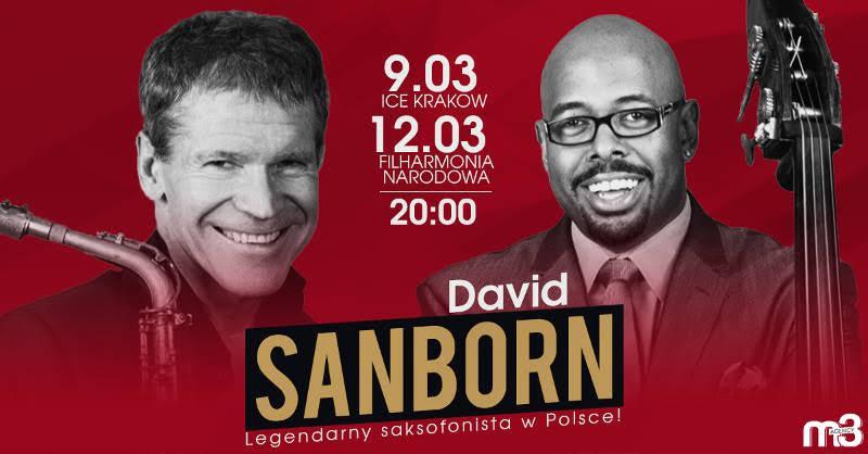 David Sanborn w Polsce (źródło: materiały prasowe organizatora)