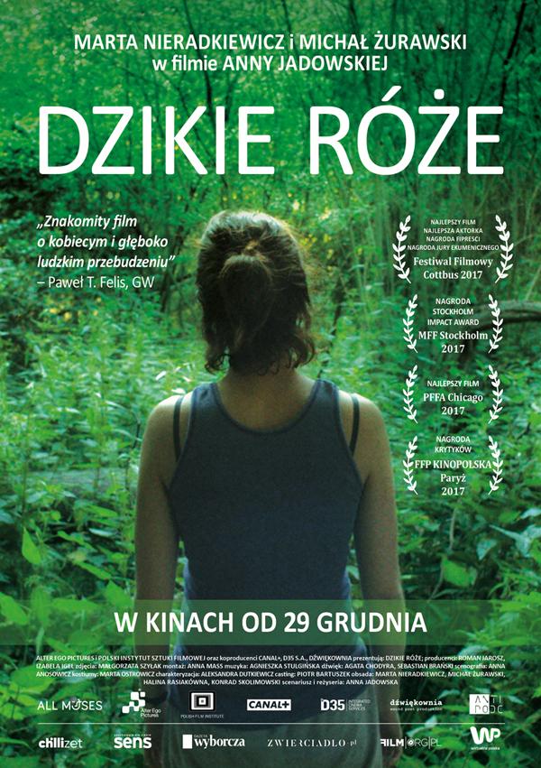 """""""Dzikie Róże"""" – plakat filmu (źródło: materiały prasowe producenta)"""