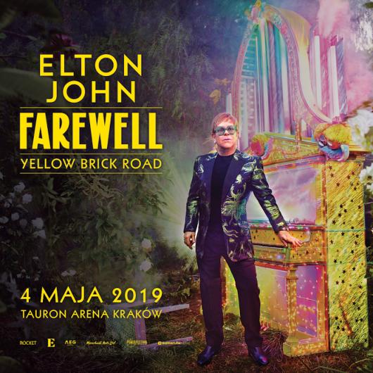 Elton John na Tauron Arenie (źródło: materiały prasowe organizatora)
