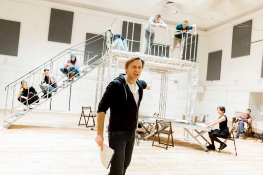 """Georg Büchner, """"Śmierć Dantona"""", reż. Barbara Wysocka, na zdj. Oskar Hamerski, fot. Krzysztof Bieliński (źródło: materiały prasowe teatru)"""