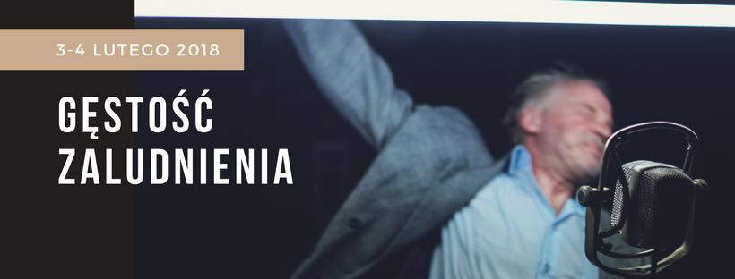 """""""Gęstość zaludnienia. Historia wybuchu"""" Krzysztof Popiołek (źródło: materiały prasowe organizatora)"""