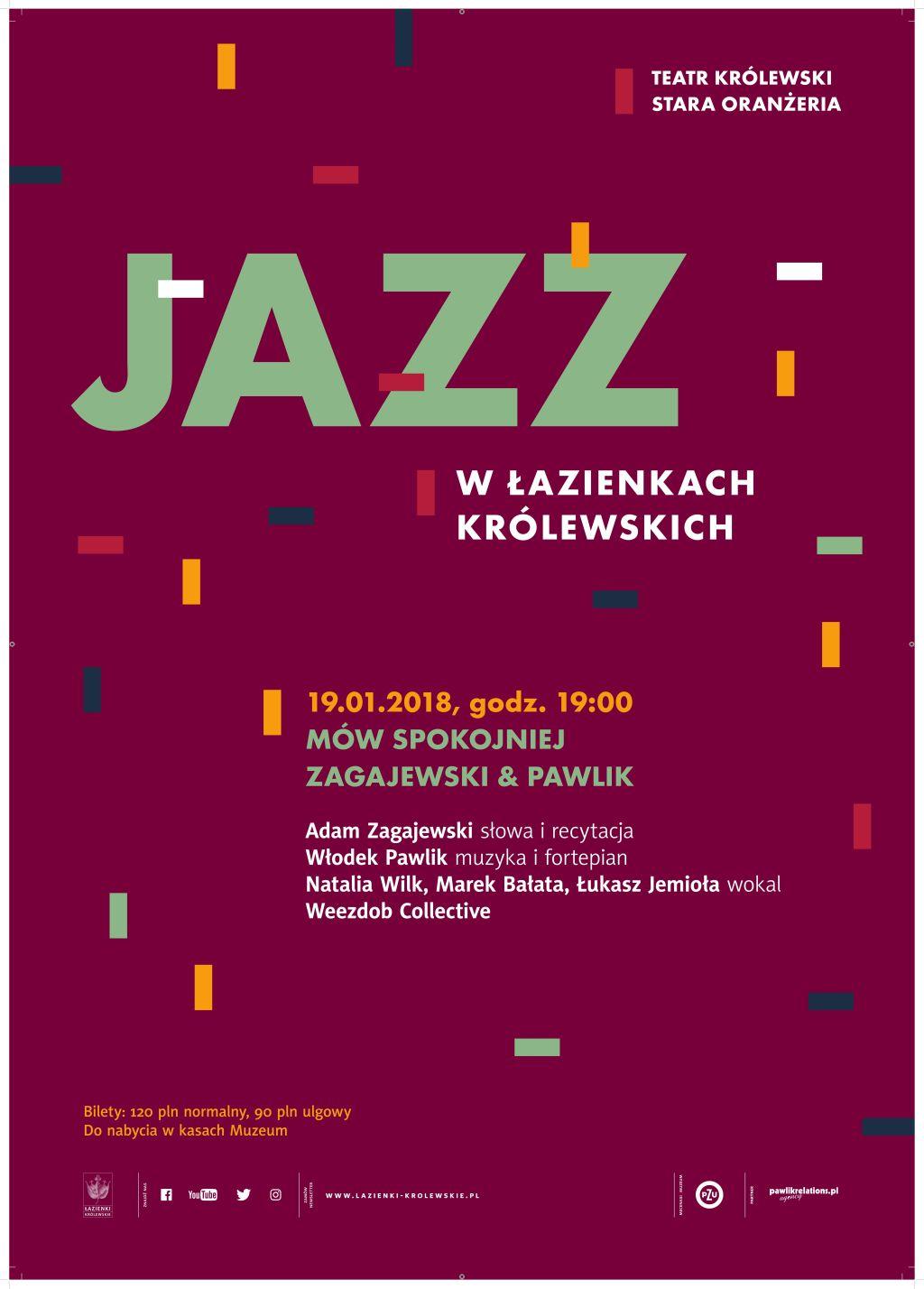 """Jazz w Łazienkach Królewskich. Zagajewski&Pawlik, """"Mów spokojniej"""" (źródło: materiały prasowe organizatora)"""