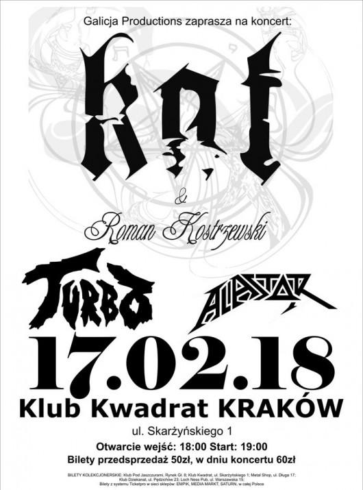 Kat & Roman Kostrzewski, Turbo, Alastor (źródło: materiały prasowe organizatora)