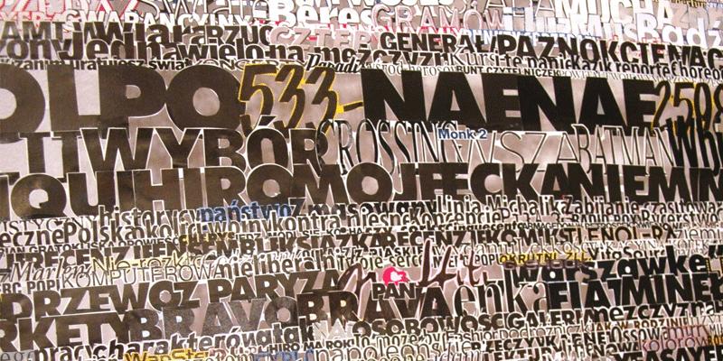"""Katarzyna Józefowicz, """"Posłowie"""", instalacja, fragment, fot. M.Balińska (źródło: materiały prasowe organizatora)"""