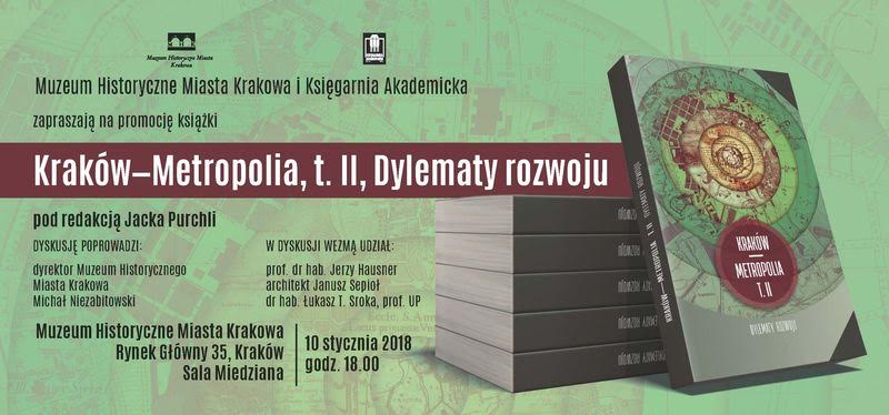 """Spotkanie promocyjne II tomu książki """"Kraków – Metropolia"""" (źródło: materiały prasowe organizatora)"""