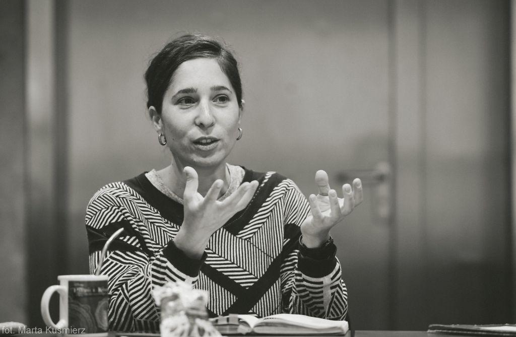 Anna Smolar, fot. Marta Kuśmierz (źródło: materiały prasowe teatru)