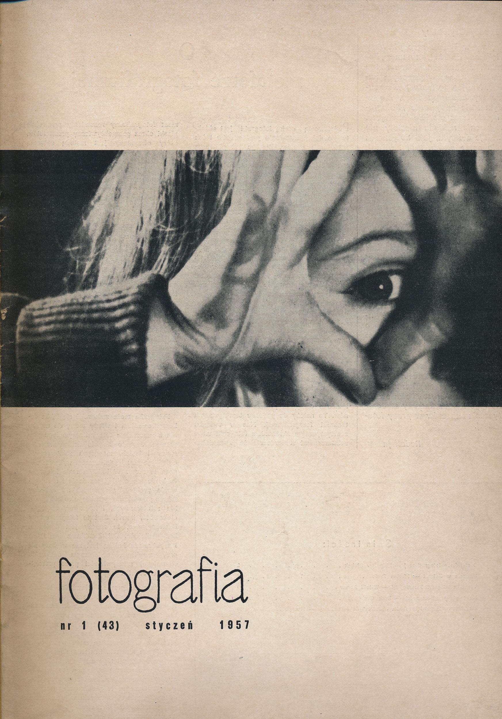 """Miesięcznik """"Fotografia"""" nr 1, 1957, fot. Karol W. Kasper (źródło: materiały prasowe organizatora)"""