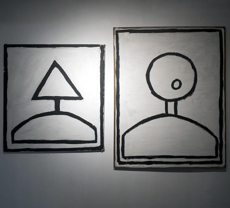 """Marcin Harlender, """"Portret II"""", """"Portret I"""" (2005), kolekcja DTZSP, fot. Małgorzata Kujda (źródło: materiały prasowe organizatora)"""