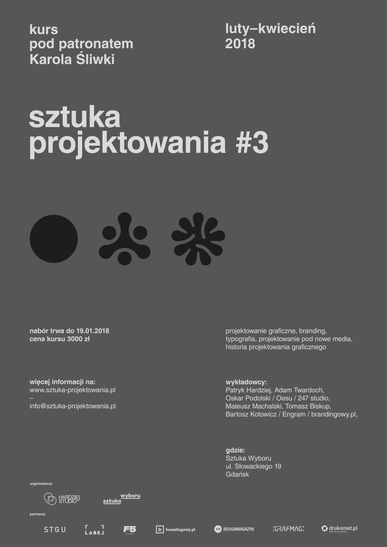 """Sztuka Projektowania"" – plakat (źródło: materiały prasowe organizatora)"