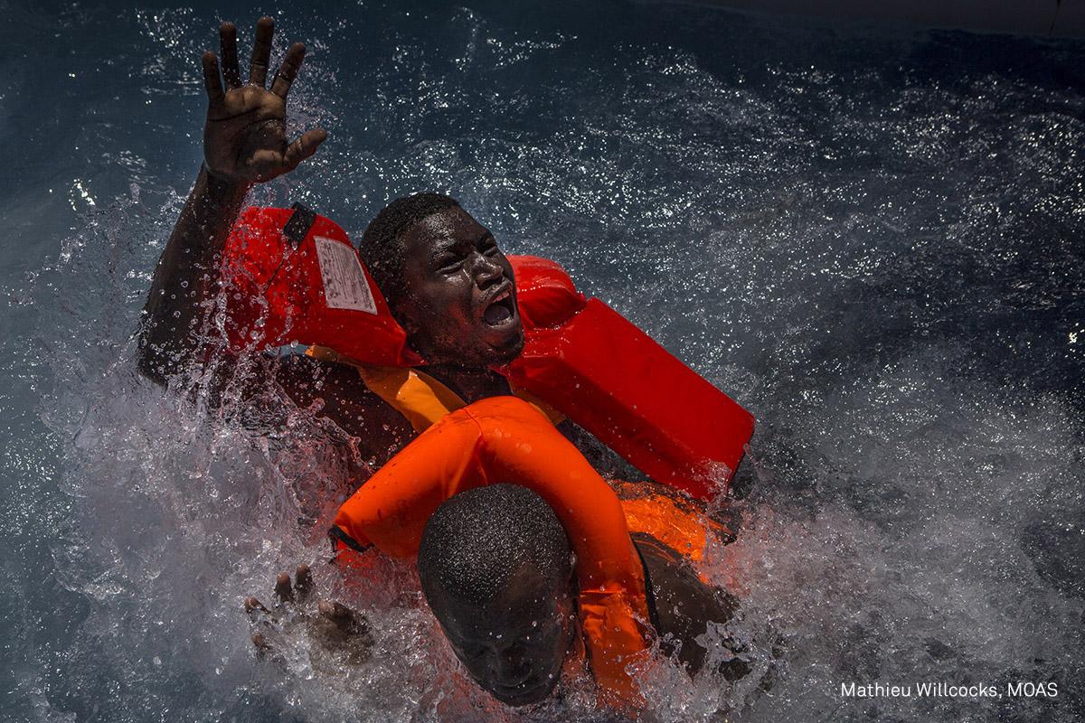 """Mediterranean Migration"", World Press Photo 2017 (źródło: materiały prasowe organizatora)"