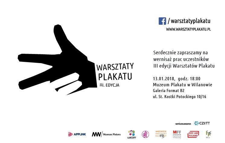 Wystawa 3. edycji Warsztatów Plakatu (źródło: materiały prasowe organizatora)