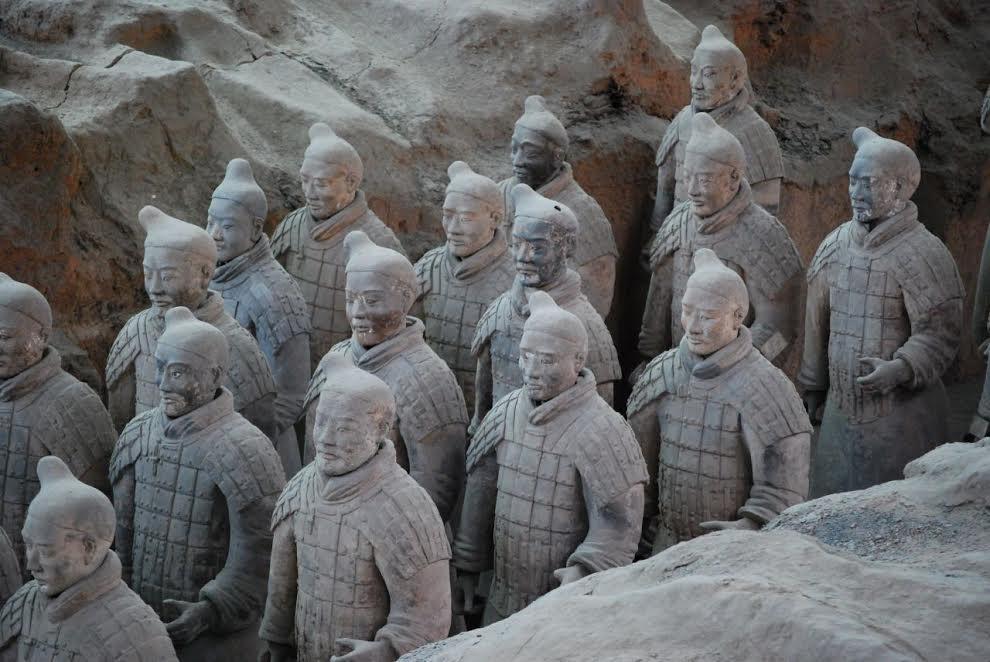 Chińska Armia Terakotowa (źródło: materiały prasowe organizatora)