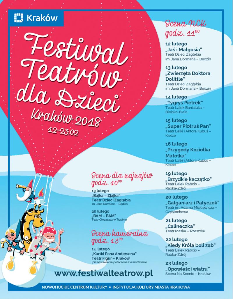 Festiwal Teatrów dla Dzieci (źródło: materiały prasowe organizatora)