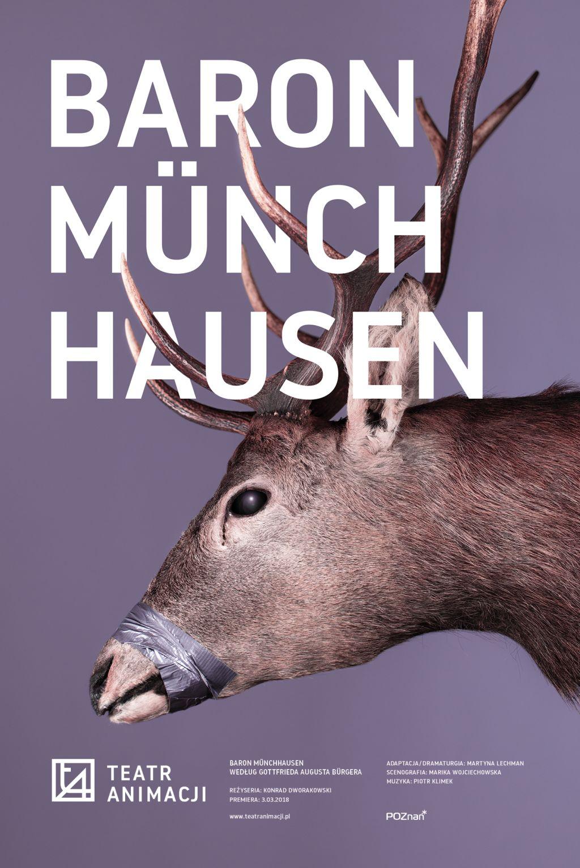 """Gottfried August Bürger, """"Baron Münchhausen"""", reż. Konrad Dworakowski (źródło: materiały prasowe teatru)"""
