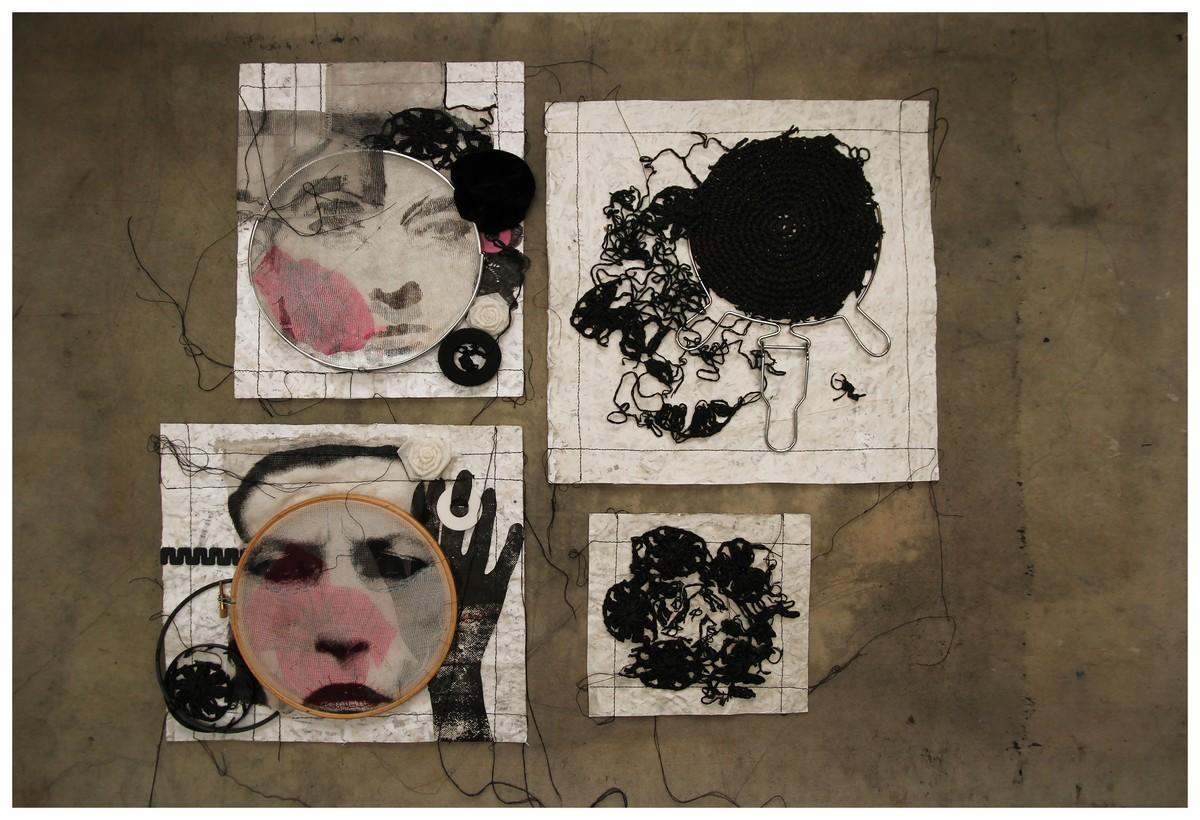 """Grażyna Brylewska, """"Zawsze fragment – Recycling"""" (źródło: materiały prasowe organizatora)"""