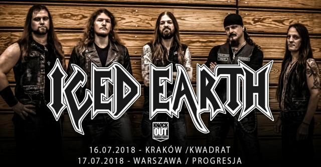 Iced Earth w Polsce (źródło: materiały prasowe organizatora)