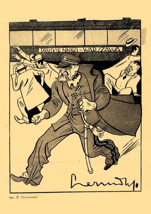 Józef Piłsudski w karykaturze (źródło: materiały prasowe organizatora)