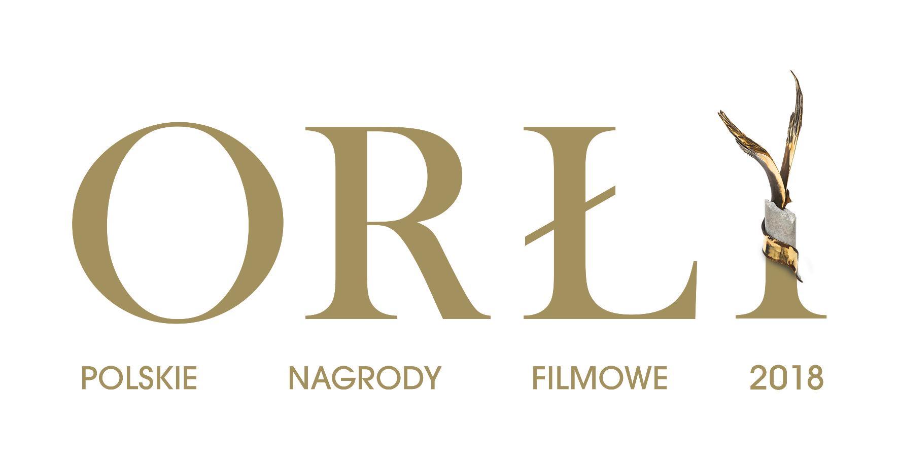 Polskie Nagrody Filmowe Orły 2018 –logotyp (źródło: materiały prasowe)