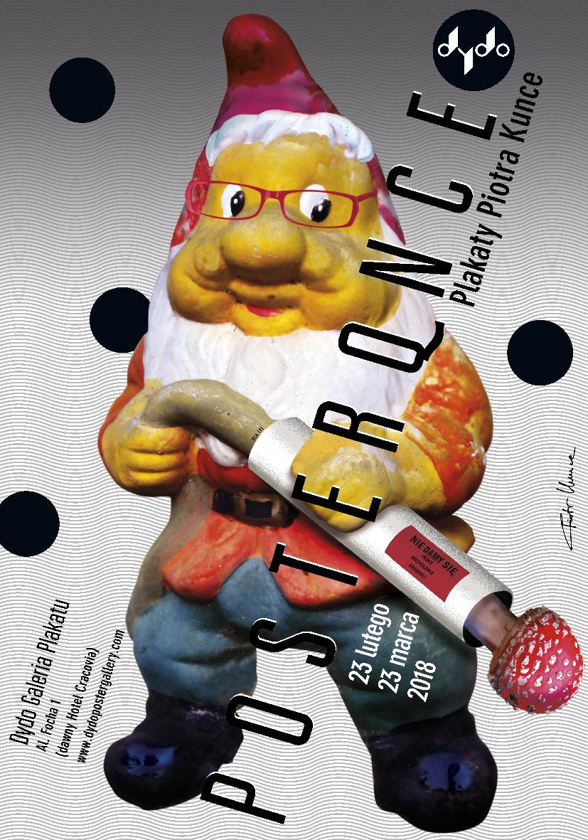 """Plakat wystawy """"POSTERQNCE"""" (źródło: materiały prasowe organizatora)"""