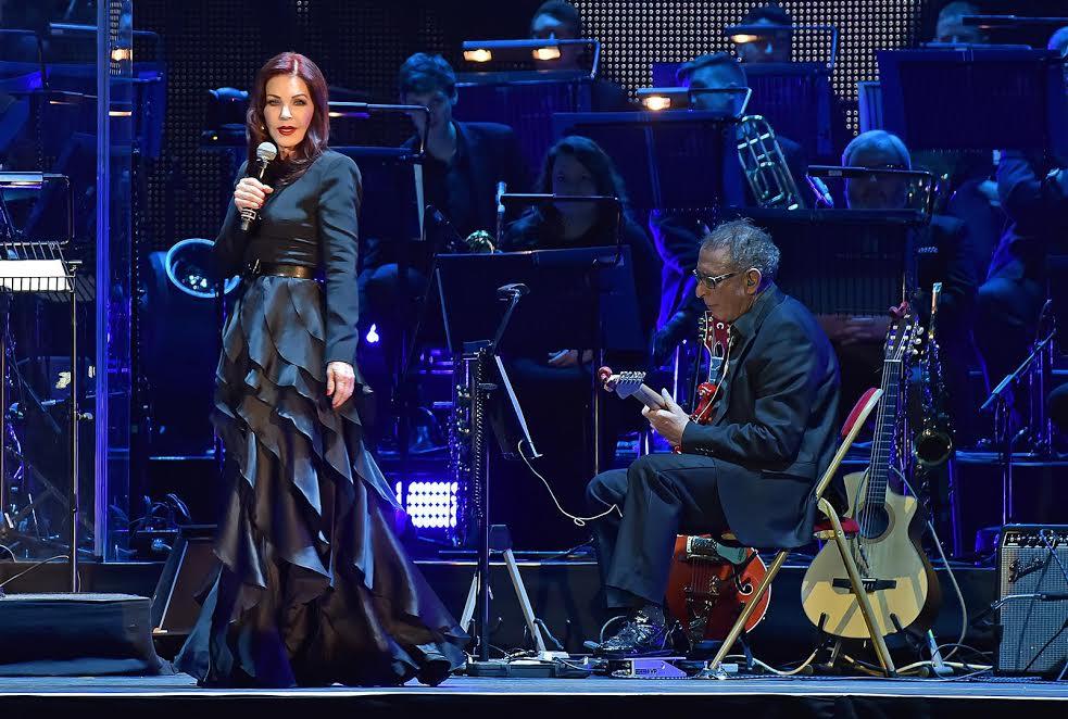 Priscilla Presley na Tauron Arenie w Krakowie (źródło: materiały prasowe organizatora)
