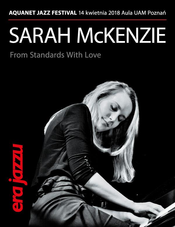 Sarah McKenzie, Era Jazzu: Aquanet Jazz Festival (źródło: materiały prasowe organizatora)