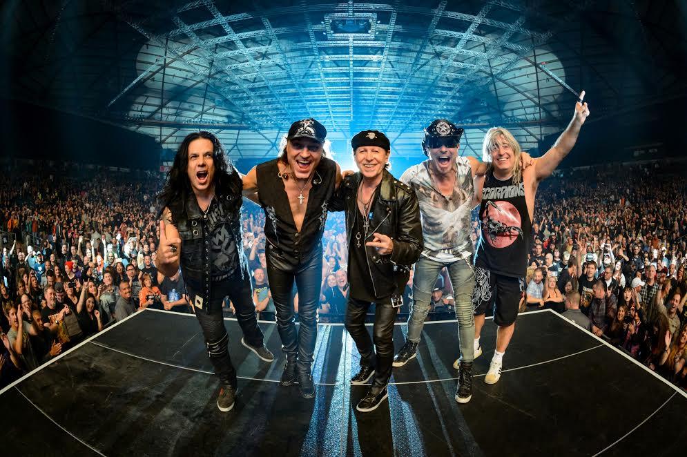 Scorpions w Atlas Arena w Łodzi (źródło: materiały prasowe organizatora)