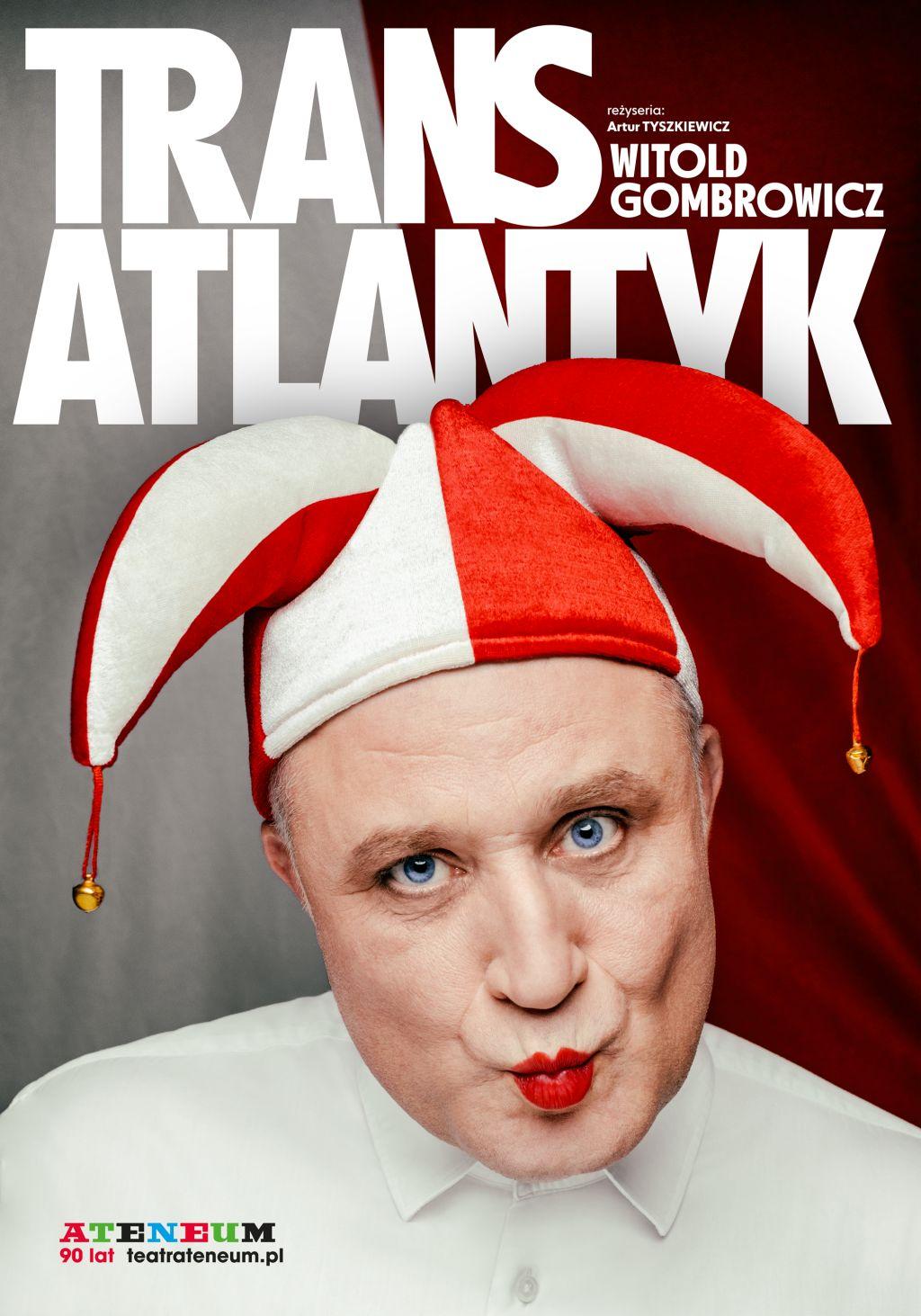 """Witold Gombrowicz, """"Trans-Atlantyk"""", reż. Artur Tyszkiewicz (źródło: materiały prasowe teatru)"""